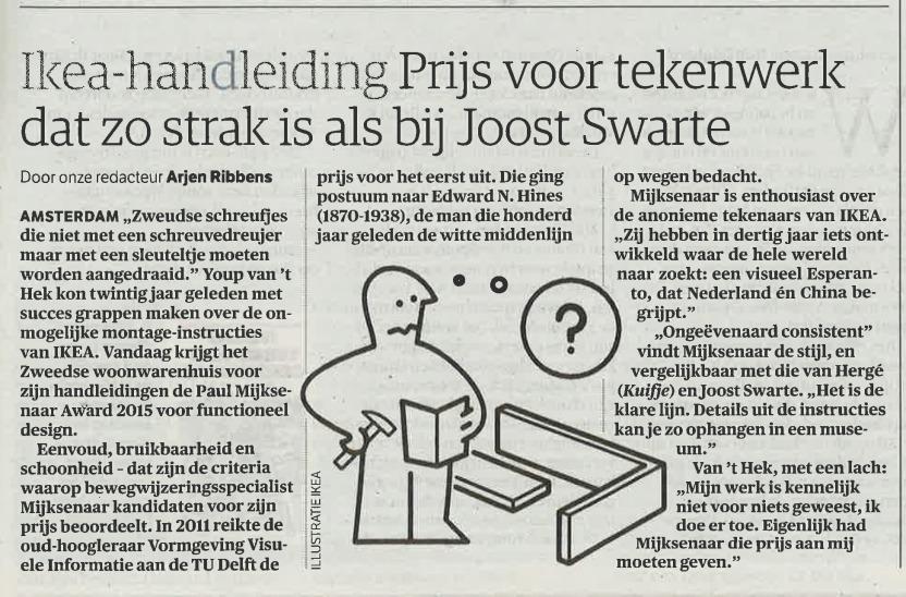NRC Handelsblad (11-11-2015)