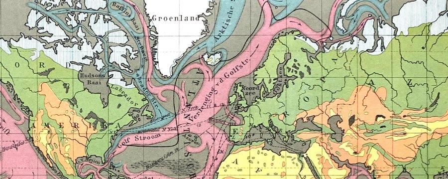 detail kaart uit de 6e druk (1884)